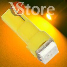 2 LED T5 SMD Amarillo Lámparas Bombillas Ubicación Para Faros Angel Eyes