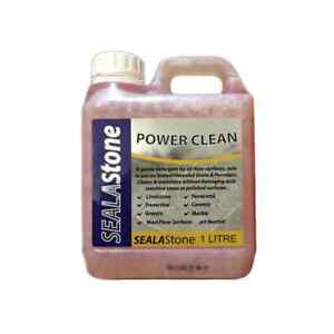 SEALAStone Professional Power Clean Tile and Stone Cleaner 1 Litre Bottle