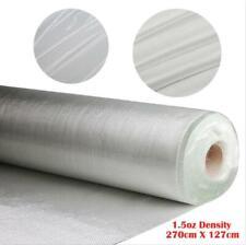 1.5 OZ White Fiberglass Cloth Mesh 50'' x 3 Yards Woven Roving Glass Fiber