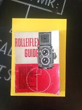 Rolleiflex Twin Lens Guide, 1965 Edition, Focal Press Guide.