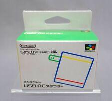 Nintendo USB Classic Mini Super Famicom AC Adaptor SFC Snes Japanese NEW ***