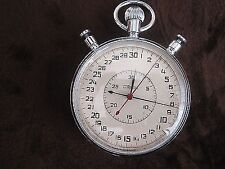 Vintage Soviet Stopwatch SLAVA Chronometer Profesional Low Serial Number USSR