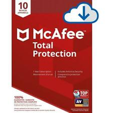 Latest - McAfee Total Protection 2020 - 10 Devices 1 Yr - FAST Digital Delivery