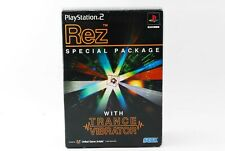 Rez Special Package w/Trance Vibrator PlayStation2 JP GAME. F/S