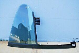 2009 - 2012 Volkswagen CC Rear Left Door Quarter Glass Corner Window OEM