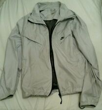 Nike Men's light grey Zip Jacket Size L Good Condition