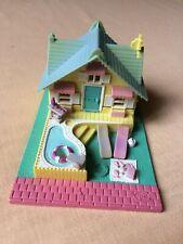 POLLY POCKET Summer House Maison D'été 2 Personnages 1993 BLUEBIRD TOYS MATTEL