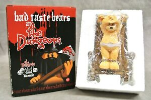 BAD TASTE BEAR FIGURE FOR JUNE 2005 - STRETCH - NO 123 - BOXED DUNGEON SERIES.
