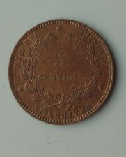 monnaie france 5 centimes 1894 A ceres