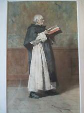 "ORIGINAL ""PAOLO BEDINI (1844-1924)"" WATERCOLOR PAINTING"