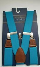 $39.95 Club Room Men's Suspenders (Teal) One Size