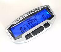 NEW EVORIDER BICYCLE CYCLE COMPUTER BIKE SPEEDO ODOMETER SPEEDOMETER + BACKLIGHT
