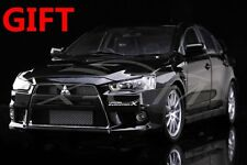 Car Model Mitsubishi Lancer EVO-X (Black) Right 1:18 + SMALL GIFT!!!!!!!!!!!