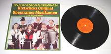 Kretscheks Original Oberkrainer Musikanten - SIGNED LP - Souvenir aus Oberkrain