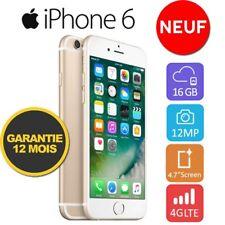 Neuf Apple iPhone 6 16GO 16GB Unlocked DÉBLOQUÉ Téléphones Gold OR FR