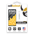 Cellhelmet Liquid Glass Screen Protection W/$300 Guarantee Works with all phones