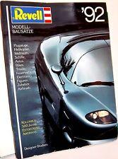 REVELL GERMANY CATALOG PLASTIC MODEL KITS 1992    1/72 SCALE HISTORICAL FIGURES
