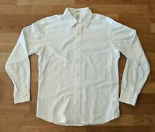 Taylor Stitch Custom Tailored Solid White Shirt 16.5 32/33 (Medium/Large)