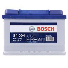 BOSCH S4 004 60Ah 540A 12V AUTOBATTERIE STARTERBATTERIE PKW-BATTERIE 31569327