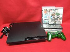 Sony Ps3 PlayStation 3 Slim 80Gb Video Game Console