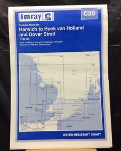 Imray Chart C30. HARWICH to HOEK Van HOLLAND & DOVER STRAIT. Pub. 1999