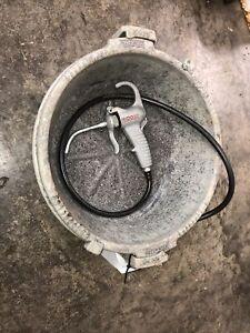 Ridgid 418 Oiler Bucket With Gun For 300 700 Pipe Threader