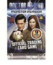 13 Packs Doctor Who Monster Invasion Trading Cards 9 cards per pack Dr card
