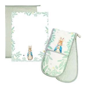 Eddingtons Peter Rabbit Daisy - Tea Towels & Double Glove Set