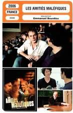 LES AMITIES MALEFIQUES - Blanc,Régnier (Fiche Cinéma) 2006 - Poison Friends