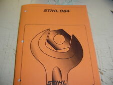 REPAIR SERVICE MANUAL FOR STIHL CHAINSAW 084 084AV  NEW   ----  MANUAL 44