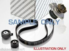 VW POLO 1.4 16V 02-09 TIMING CAM BELT KIT TENSIONER IDLER PULLEY + WATER PUMP