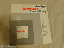 design furniture from Italy January 1981 (1980, paperback)
