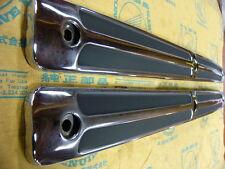 Honda CB 750 Four Auspuff Hitzebleche Beinschutz Set