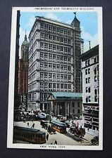 Postcard Telephone & Telegraph Building New York City