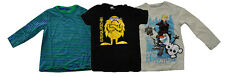 Lot of 3 Boys T-Shirts tee shirts Frozen Stripes Sasquatch 4 years