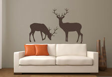 Wall Decal Vinyl Sticker  Elk Deer Woodland Hunting Horns Animal r688