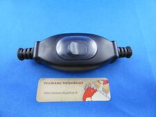 1 Schnur-Zwischenschalter Schwarz IP65, 2-polig, 3 A, 250 V~, Paßt für LED, SMD