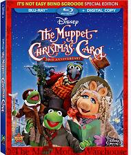 Disney Henson Dickens The Muppet Christmas Carol Movie on Blu-ray & Digital Copy