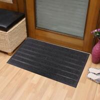 Durable Polyester and Rubber Door Mat Heavy Duty Doormat Indoor & Outdoor Rug