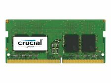 8GB DDR4 Crucial 2400 MHz PC4-19200 SODIMM 260-Pin Laptop Memory