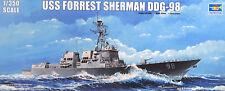 Zerstörer USS FORREST SHERMAN,DDG-98,US.Navy,OVP,Trumpeter,04528,1:350,NEUWARE