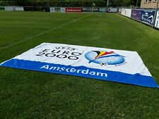 Uefa Euro Ek voetbal 2000 vlag flag Amsterdam 142x94 cm