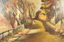 Aubrücke Münster/Stuttgart Expressionismus Signiert Mushoff ca. 1930