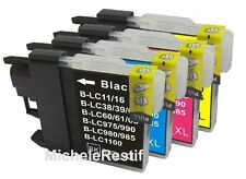 4+6 Cartouches d'encre compatible pr Brother MFC-660CN