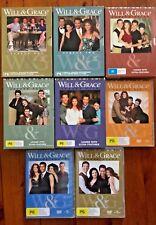 Will & Grace Seasons 1, 2, 3, 4, 5, 6, 7, 8
