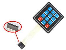 12 Tasten Matrix Folientastatur Switch Keypad Keyboard für Arduino Raspberry Pi