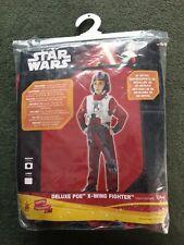 Star Wars Deluxe Poe X-Wing Fighter Kids Costume Age 5-6 Years Fancy Dress