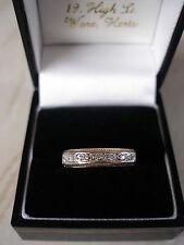 9 CARAT GOLD DIAMOND SET ETERNITY WEDDING RING MADE IN ENGLAND BRAND NEW IN BOX