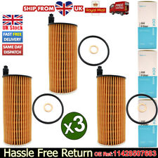 3x Oil Filter 11428507683 For BMW 1/2/3/5/6/7 Series X1 X3 X4 F20 F30 F10 Diesel