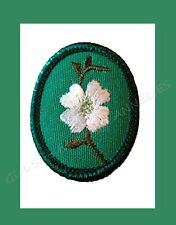 DOGWOOD Girl Scout TROOP CREST Tree Flower MINT 1974 Collectors NEW Multi=1 Ship